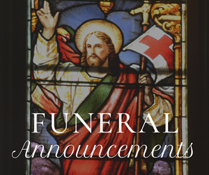 Funeral Announcements
